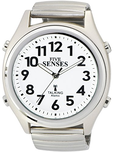 ATOMIC! Talking Watch - Sets Itself FIVE SENSES unisex Talking Watch (SENS-RCTK-P201-12)(M104)