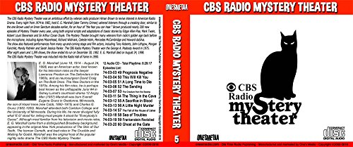 CBS RADIO MYSTERY THEATER Collection 3 - BOX SETS 5 and 6 - 24 Audio CD - 24 Shows - Episodes 49 to 72 (Cbs Y)