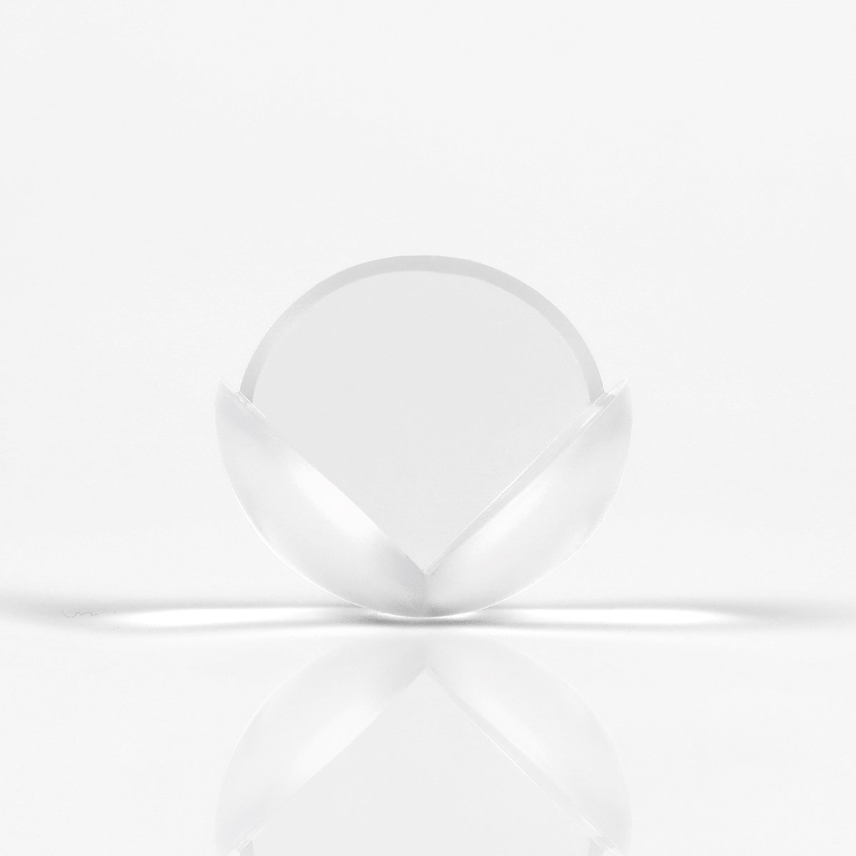Clear Corner Protect Baby Proofing Corner Guards Protects For Furniture&Sharp Corners (Small Ball-Shaped,12Pack) LTD TMFZJ002