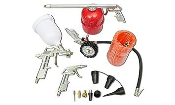 Kit de Herramienta de aire Pistola de pulverización de pintura para Compresor