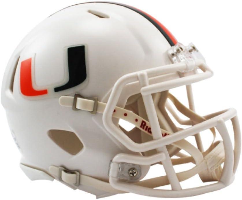 NCAA Miami Hurricanes Speed Mini Helmet