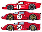 1967 LeMans Triple Pack, Ford MkIV & Ferrari 330 P4 #21 & #24