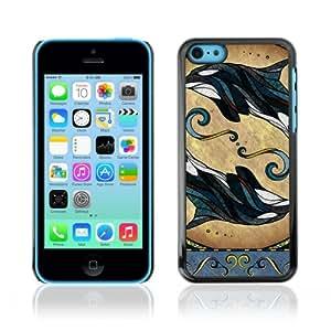 CQ Tech Phone Accessory: Carcasa Trasera Rigida Aluminio para Apple iPhone 5C - Cute Mice