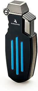 Firebird Lighter Raptor Single Jet Flame - Black & Blue