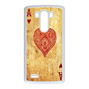 Personalized Creative Playing CARDS For LG G3 LOSQ672018