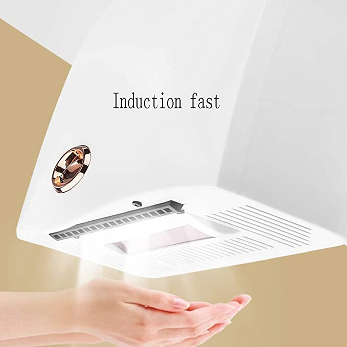Secador de Manos - Secado de inducción automático Baño de Hotel móvil Secador de Manos Corto: Amazon.es: Hogar