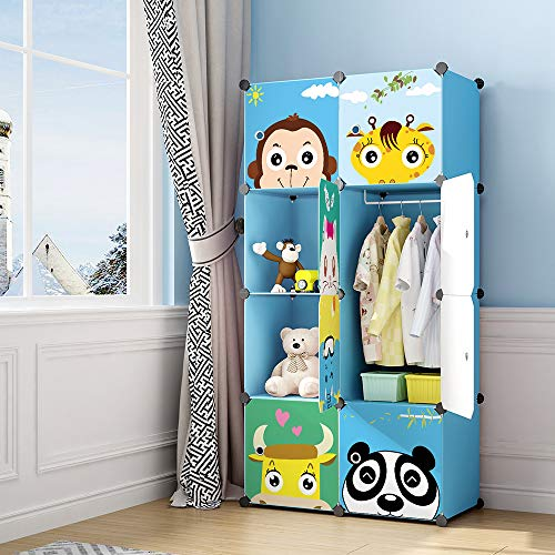 MAGINELS Children Wardrobe Kid Dresser Cute Baby