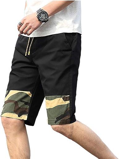 GIRLXV Pantalones De Verano Pantalones Cortos para Hombre ...