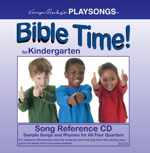 PLAYSONGS Bible Time for Kindergarten Song Reference CD
