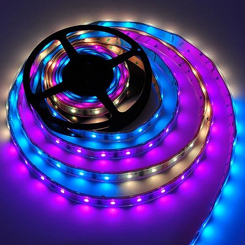 RGB Color Changing Magic LED Strip Waterproof LED with Controller and Power Supply By Ledwholesalers, ()