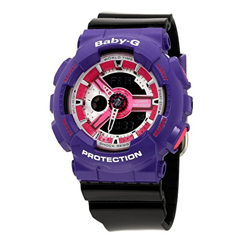 G-Shock BA-110NC-6A Baby-G Series 90's Color Series Luxury Watch - Purple/Pink / One Size
