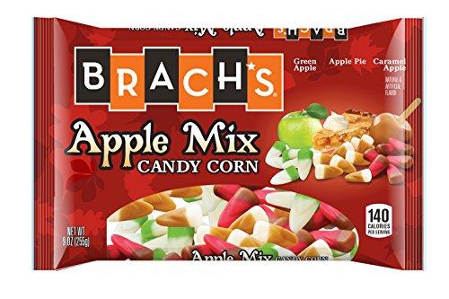 Brach's Candy Corn, Apple Mix, 9 Ounce Bag, Pack of 24