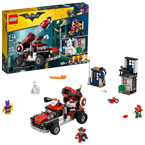 - LEGO BATMAN MOVIE DC Harley Quinn Cannonball Attack 70921 Building Kit (425 Piece)