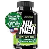 NuMen 40+ Horny Goat Weed Extract 1000mg with Epimedium (13mg Icariin), Maca