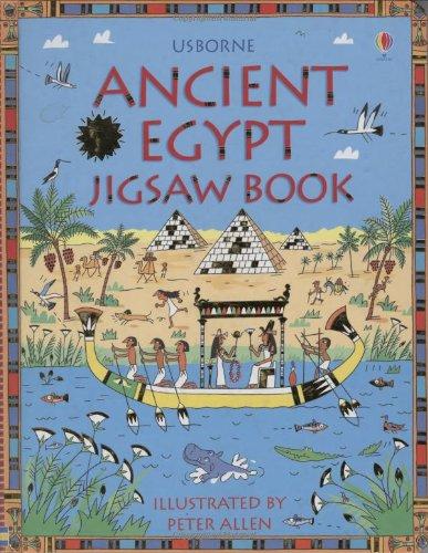 Usborne Ancient Egypt Jigsaw Book