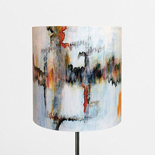 LampPix 10 Inch Custom Printed Table Desk Lamp Shade Venetian Cave (Spider Fitting) - Lamp Base Not Included (Venetian Table Lamp)