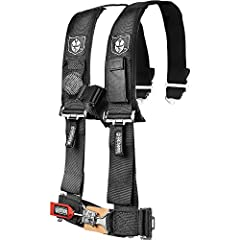 "The Pro Armor 4 Point Harness. Our 2"" harnesses come with sewn in pads for maximum comfort and safety while on your ride. Each harness comes with a water resistant phone pocket on one side and a mesh light pocket with included flashlight on t..."