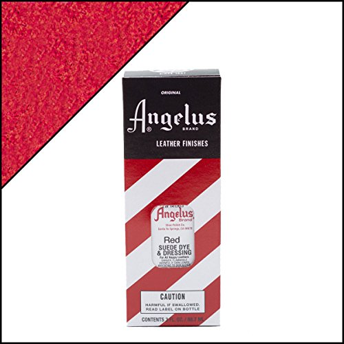 Where to find angelus suede dye red?
