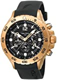 Nautica Mens N18523G NST Gold-Tone Stainless Steel Dress Watch