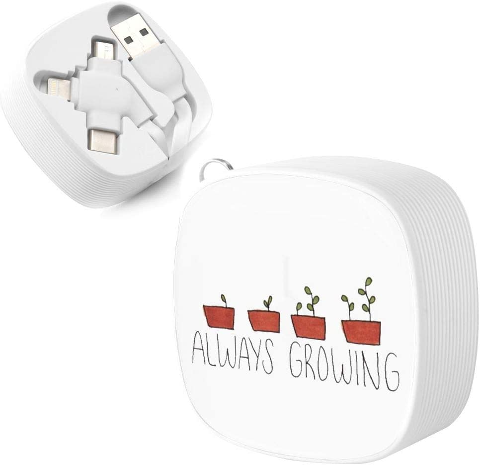 Always Growing Suitable for Any Mobile Phone Three in One Data Line