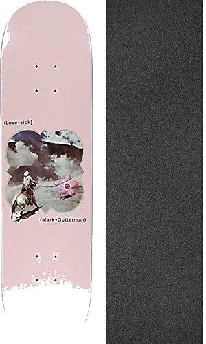 確認難しいおばあさんLovesick SkateboardsマークGutterman花スケートボードデッキ – 8