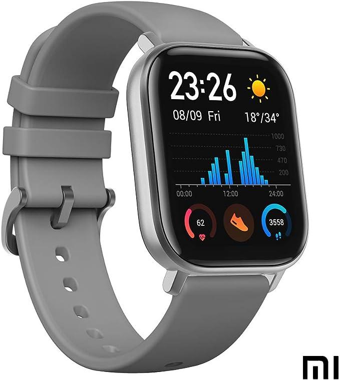 Xiaomi SMARTWATCH AMAZFIT GTS 1,65 GPS NFC Lava Grey: Xiaomi ...