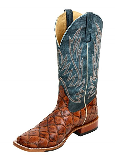 Horse Power by Anderson Bean HP1823 Filet of Fish Cognac Men's Boots (10 EE)
