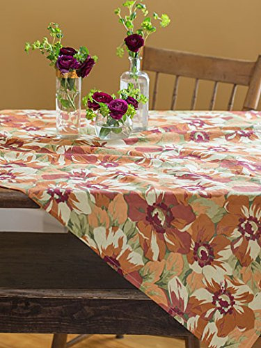 April Cornell Day Dream Floral Autumn Browns 48