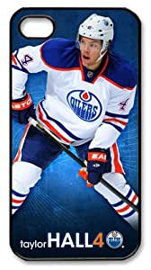 icasepersonalized Personalized Protective Case for iphone 4 - NHL Edmonton Oilers #4 Taylor Hall by mcsharks