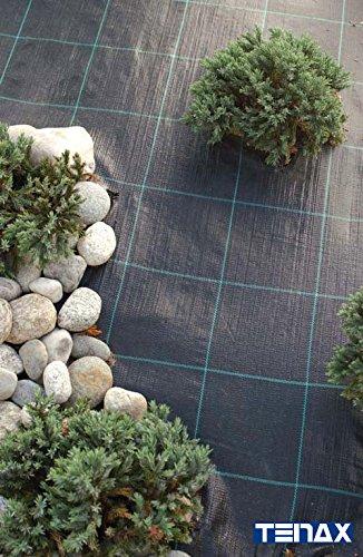 Tenax Leinwand Mulchfolie Green Cover schwarz 10000x 0,1x 165cm 73050619