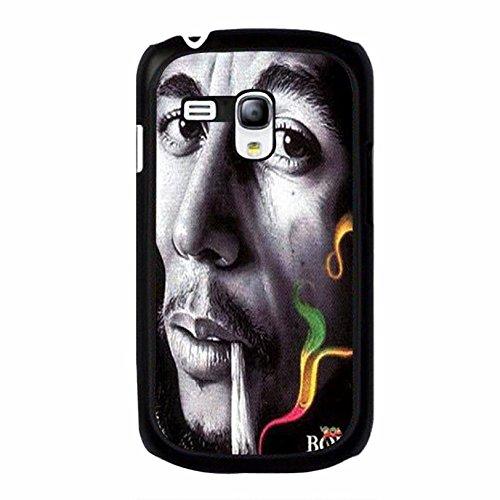Coque Samsung Galaxy S3 Mini Cover Shell Classical Bright Smoking Design Reggae Music Bob Marley Wailing Wailers Phone Case Cover Originator Singer Personalized,Cas De Téléphone
