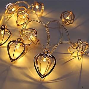 Malltop 10 LED Halloween Christmas Party String Light Lamp Decor Outdoor Fairy