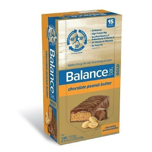 Balance - Nutrition Energy Bar Gold Chocolate Peanut Butter - 1.76 oz.
