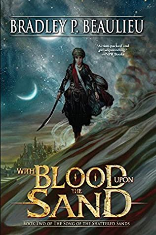 book cover of With Blood Upon the Sand