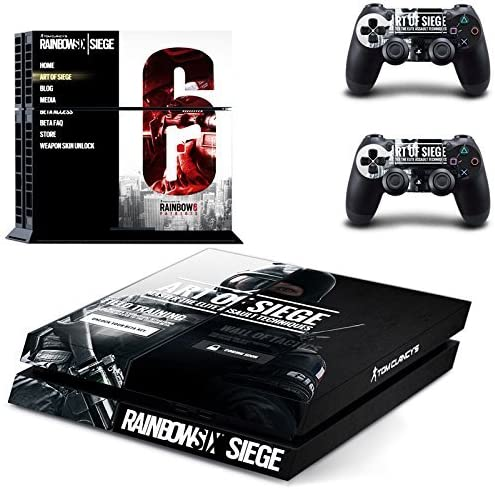 Playstation 4 + 2 Controller Design Sticker Protector Set ...