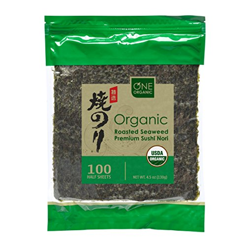 ONE ORGANIC Sushi Nori Premium Roasted...