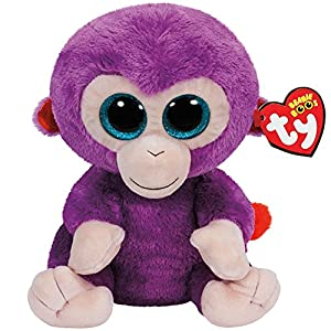 Ty Beanie Boos Grapes The Purple Monkey Plush