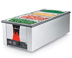 Vollrath (72050) Cayenne Heat 'N Serve 4/3 Food Warmer