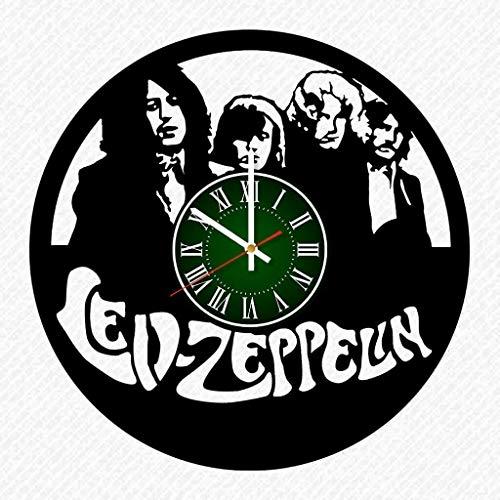 Led Zeppelin Vinyl Record 12 Inch Wall Clock