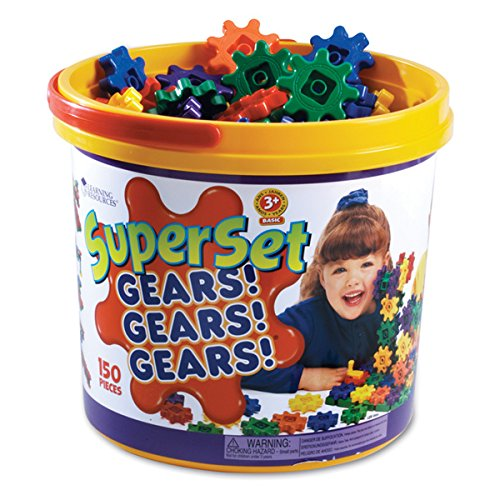 Learning Resources Super Set Gears! (Pack of 150)