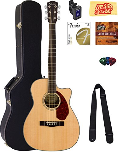 fender-cc-140sce-concert-acoustic-electric-guitar-natural-bundle-with-hard-case-tuner-strap-strings-