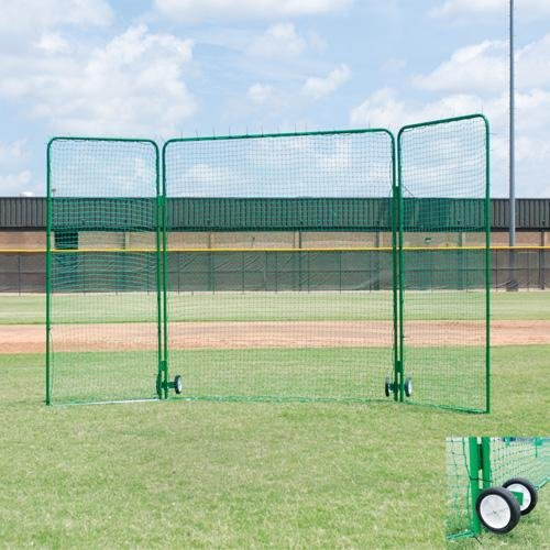 - Tri Fold Baseball Field Screen - Varsity