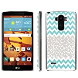 [ArmorXtreme] Phone Case for LG G Stylo LS770 / LG G4 Note Stylus / LG G Stylo H631 / MS631 [Clear] [Ultra Slim Cover Case] - [Teal Chevron Nature] -  ArmorXtreme for LG G Stylo H631