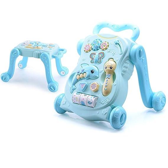AUMING Andador Primeros Pasos Correpasillos para bebé 2-en-1 ...