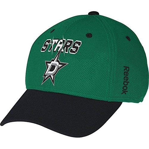 Dallas Stars NHL Youth Kid's 2nd Season Flex Fit 2-Tone Green Black Boy's Hat Cap -