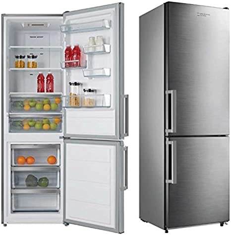 Combi Inox Eas Electric EMC1880AX 219L 76L A+: Amazon.es: Hogar