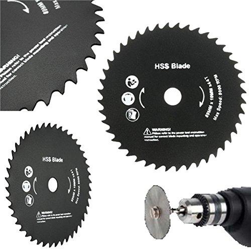 [89mm 10mm Hole 44 Teeth HSS Circular Saw Blade Cutting Discs Wheel] (Dada Life Costumes)