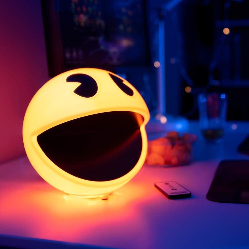 Pacman- Pac-Man - Lámpara con sonido, Multicolor (Branded ...