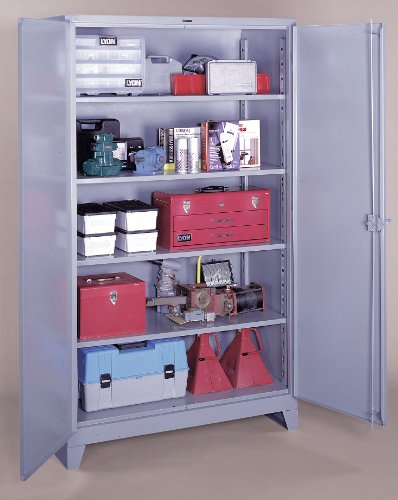 (Lyon DD1162 Half Shelf for All Welded Combination Cabinet, 20