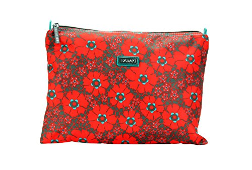 Hadaki Women's Primavera Lacey Nylon Zip Carry All Pod Medium